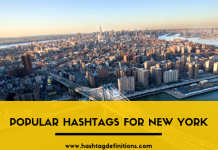 Popular Hashtags for New York - Hashtag Definitions